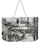 Houses And Steelmill Weekender Tote Bag