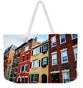 Houses In Boston Weekender Tote Bag by Elena Elisseeva