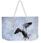 Hovering Seagull Weekender Tote Bag