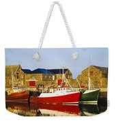 Howth Harbour, County Dublin, Ireland Weekender Tote Bag