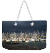 Howth Yacht Club Marina, Co Dublin Weekender Tote Bag