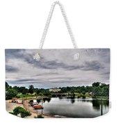 Hoyt Lake Delaware Park 0001 Weekender Tote Bag