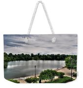 Hoyt Lake Delaware Park 0002 Weekender Tote Bag