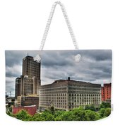 Hsbc Tower    Ellicott Square Buliding Weekender Tote Bag