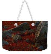 Huckleberry Bushes And Multi-hued Weekender Tote Bag