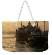 Huddled Boats Weekender Tote Bag