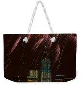 Hudson River Fireworks X Weekender Tote Bag