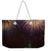 Hudson River Fireworks Xi Weekender Tote Bag