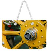 Hudson Wheel Weekender Tote Bag