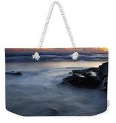 Hug Point Sunset Weekender Tote Bag