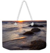 Hug Point Tides Weekender Tote Bag