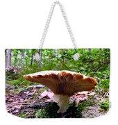 Huge White Wild Mushroom Weekender Tote Bag