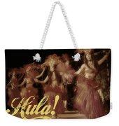 Hula Daguerreotype Weekender Tote Bag