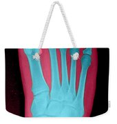 Human Foot Weekender Tote Bag