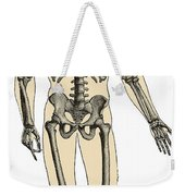 Human Skeleton Weekender Tote Bag