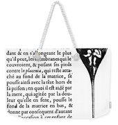 Human Sperm - 17th Century Weekender Tote Bag