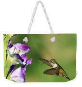 Hummingbird 2 Weekender Tote Bag