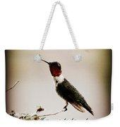 Hummingbird - Cards Weekender Tote Bag