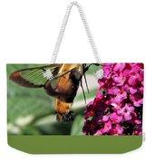 Hummingbird Clearwing Moth Weekender Tote Bag