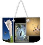 Hummingbird Collage 2009 Weekender Tote Bag
