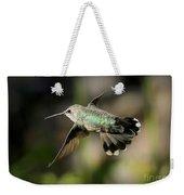 Hummingbird Fly By Weekender Tote Bag
