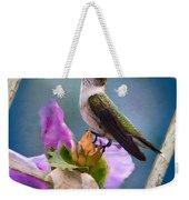Hummingbird Picture Pretty Weekender Tote Bag