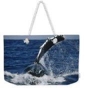 Humpback Whale Flipper Slap Hawaii Weekender Tote Bag