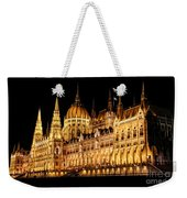 Hungarian Parliament Building Weekender Tote Bag