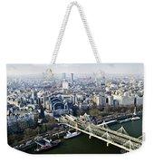 Hungerford Bridge Seen From London Eye Weekender Tote Bag