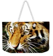 Hungry Tiger Weekender Tote Bag