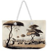 Hunting At Meritsane, Weekender Tote Bag