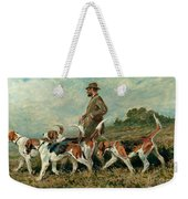 Hunting Exercise Weekender Tote Bag