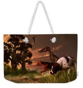 Hunting In The Age Gene Splicing Weekender Tote Bag