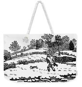 Hunting: Winter, C1800 Weekender Tote Bag
