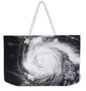Hurricane Dean In The Atlantic Weekender Tote Bag