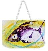 Hurricane Fish 7 Weekender Tote Bag