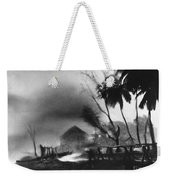 Hurricane In The Caribbean Weekender Tote Bag by Fritz Henle and Photo Researchers