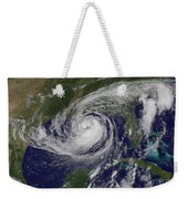 Hurricane Isaac In The Gulf Of Mexico Weekender Tote Bag