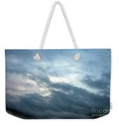 Hurricane Isaac Storm Clouds Weekender Tote Bag