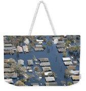 Hurricane Katrina Damage Weekender Tote Bag