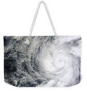 Hurricane Kenneth Off The Coast Weekender Tote Bag