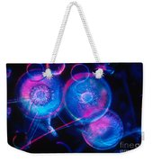 Hyalodiscus Weekender Tote Bag by Michael Abbey and Photo Researchers