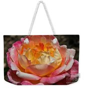 Hybrid Tea Rose Weekender Tote Bag