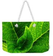 Hydrangea Leaves Weekender Tote Bag