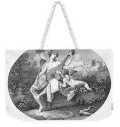 Hymen And Cupid Weekender Tote Bag
