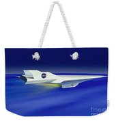 Hyper-x Hypersonic Aircraft Weekender Tote Bag