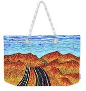I - 15 Nevada To California Weekender Tote Bag