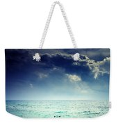 I Am Alone Weekender Tote Bag by Stelios Kleanthous