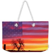 I Am Thankful To Be An American Weekender Tote Bag