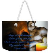 I Awoke From A Terrible Dream 2 Weekender Tote Bag